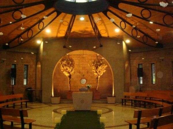 Casamento no campo com hospedagem e capela ecumênica