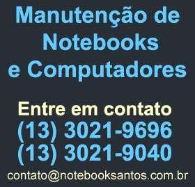 Formatação de notebook e computador em santos sp