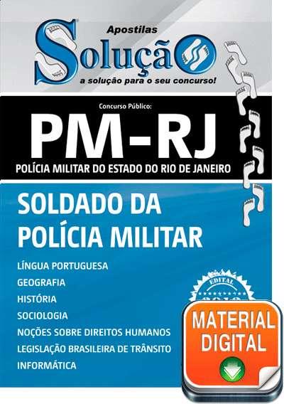 Apostila digital do concurso pm-rj 2013 - soldado da polícia militar