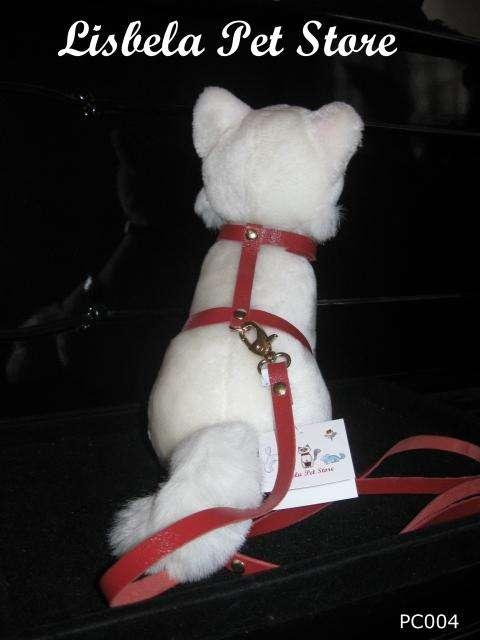 Coleira peitoral para gatos - boutique pet luxo