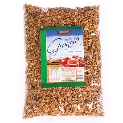 Feinkost - granolas e cereais croqui saudavel