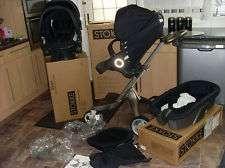 2013 v3 stokke xplory completo carrinho de bebê recém-nascido