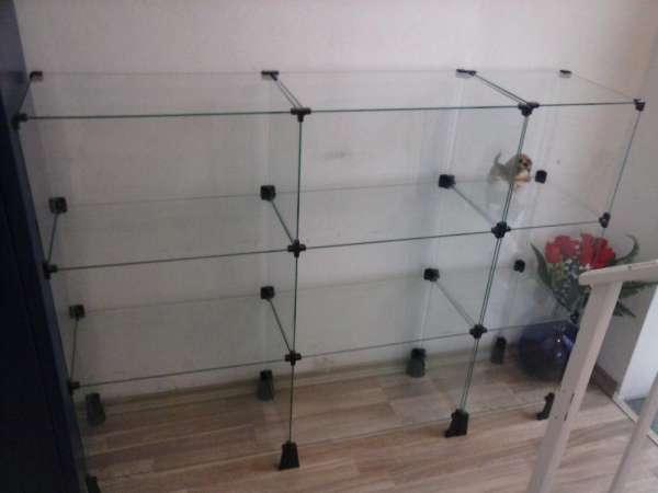 Vendo vitrine de vidro para loja