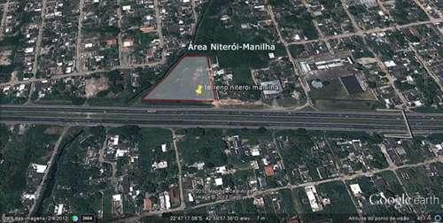 Área na rodovia niterói-manilha com 5.040 m²