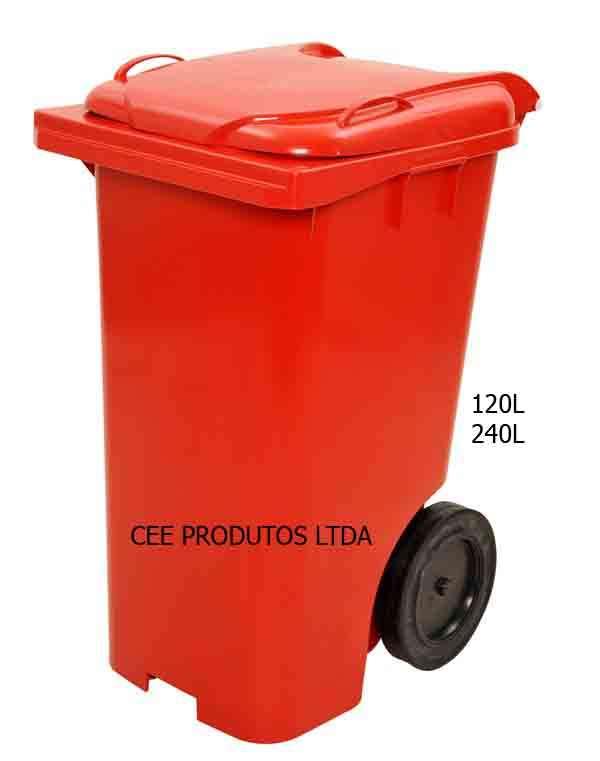 Container de lixo 240l