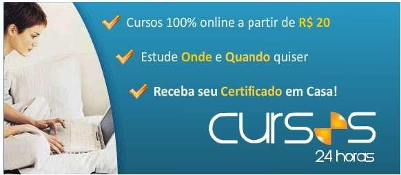 Cursos 24 horas - cursos online com certificado
