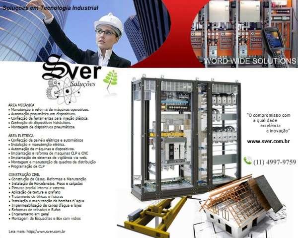 Instalação eletrica, construção civil e reformas
