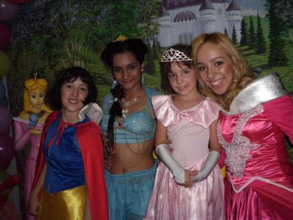 Princesas disney - animação de festa infantil
