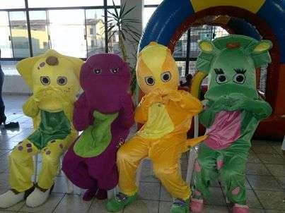 Turma do barney - animação de festa infantil