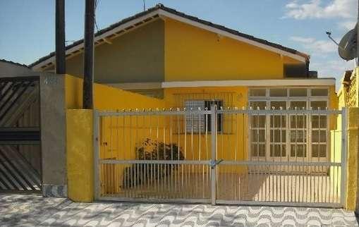 Casa 02 dorms + edicula com 1 suite - 03 vagas garagem - praia grande ? sp