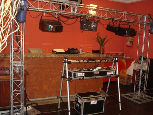 Power mix eventos - som iluminação dj telão retrospectiva tvs