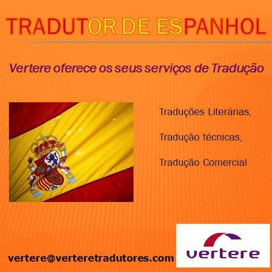 Tradutor de espanhol para português e de português a espanhol