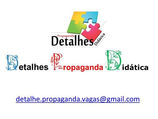 Auxiliar de publicidade e propaganda