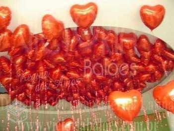 Balões de gás elio com tema ou personalizado