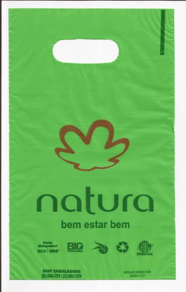 Sacolas logo natura, avon e victoria's secret