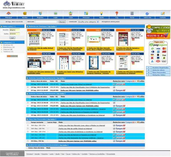 Fotos de Tenha seu site tipo mercado livre, ebay e phplev na internet 5