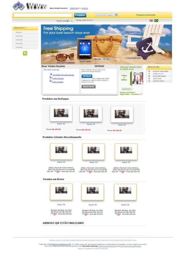 Fotos de Tenha seu site tipo mercado livre, ebay e phplev na internet 4