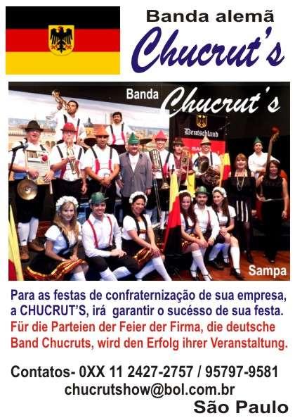 Banda alemã chucrut's de são paulo - 011 95797-9581