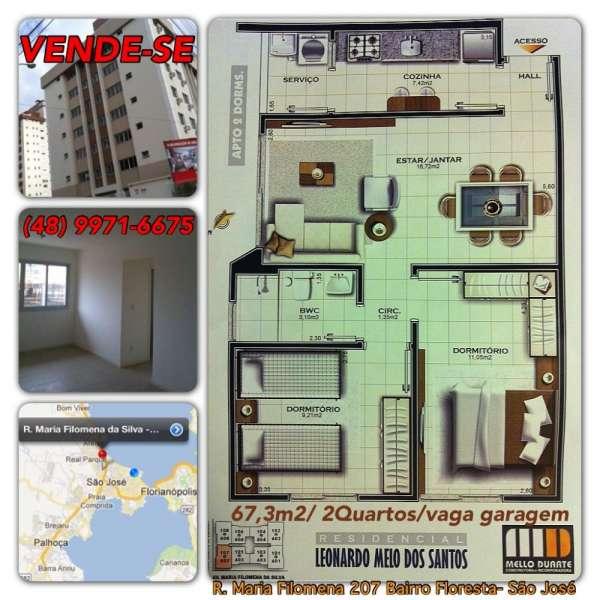 Apartamento florianópolis venda/aluguer