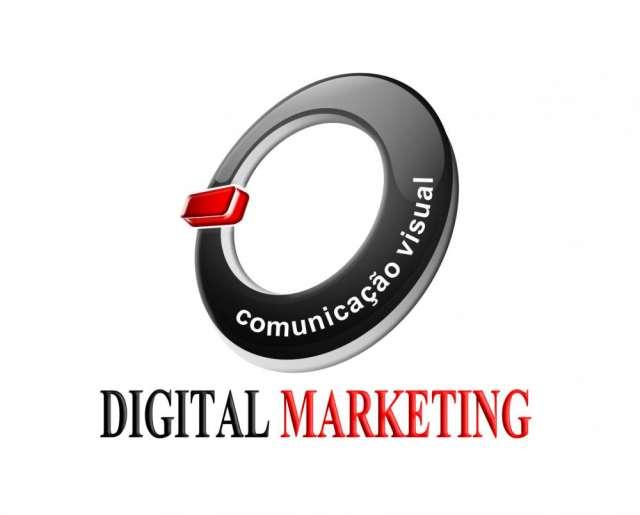 Digital marketing comunicação visual