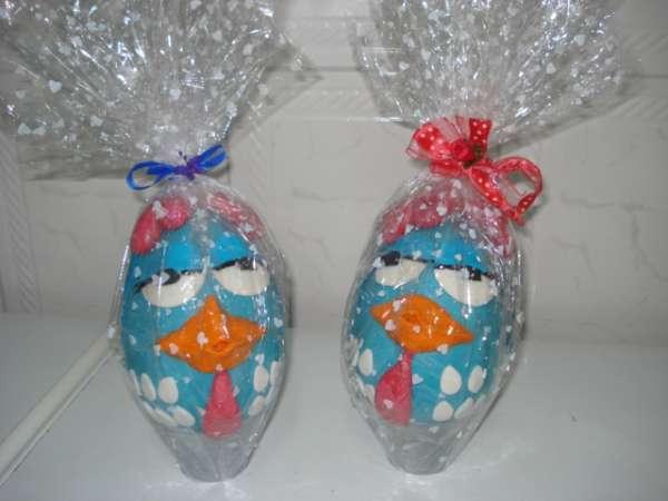 Bolos doces modelados ovos de pascoa arvore francesa maça do amor ceia