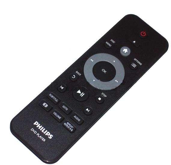 Controle remoto dvd philips dvp 3880kx original