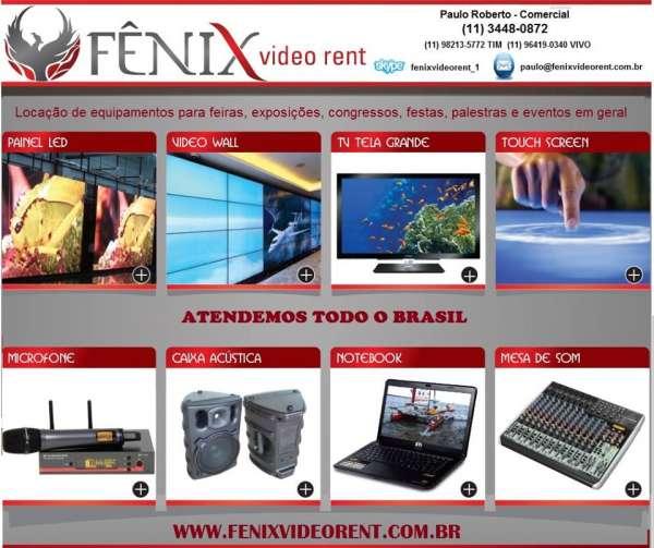 Videowall - leds - sonorização - monitores