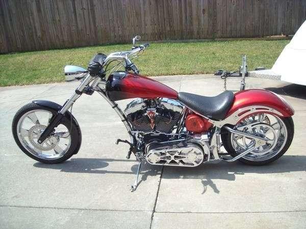 2005 custom built motos chopper