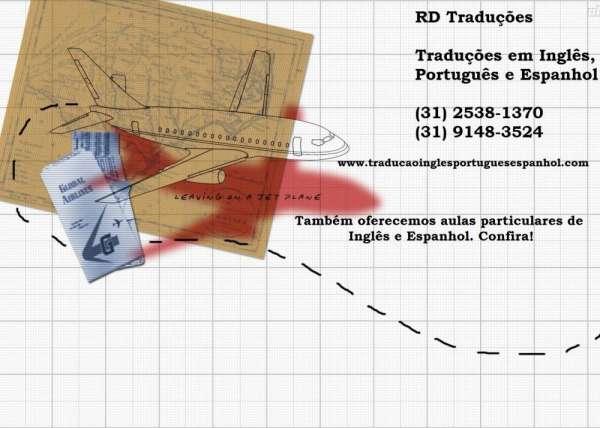 Tradução inglês português espanhol - entrega rápida