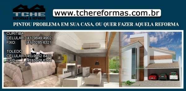 Reforma residencial curitiba | reformas residenciais curitiba | marido de aluguel curitiba