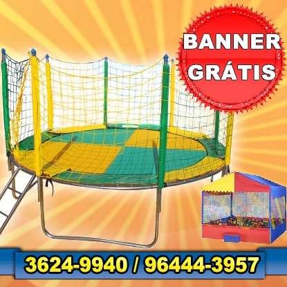 Cama elástica grátis banner