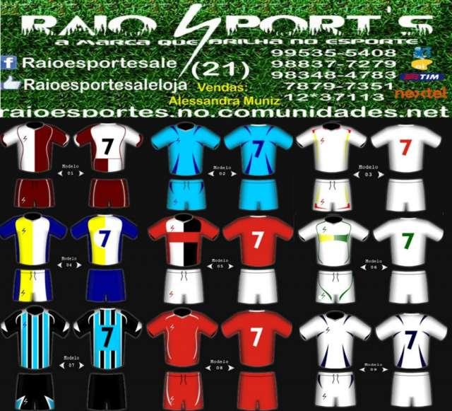 4d95eaf824 Uniformes esportivos ale 21 9535-5408. Anuncio publicado há mais de 60 dias  VER ANÚNCIOS MAIS RECENTES. Fardamento futebol