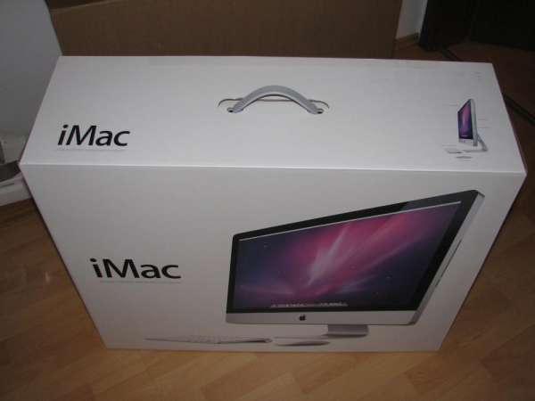 "27"" apple imac 2.93 ghz i7 quad core/16gb ram"
