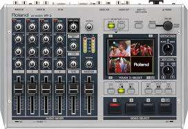 Roland vr-3 portable audio and video mixer
