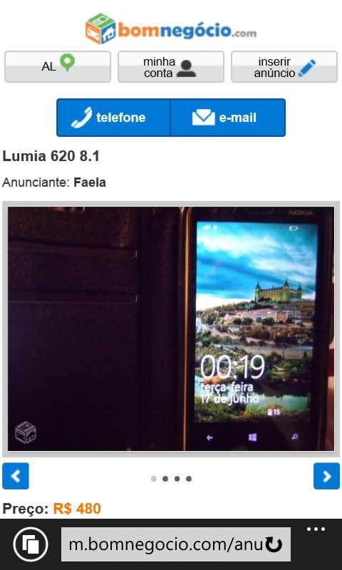 Nokia com windows phone atualizado