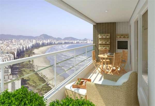 Ref 13y ? o melhor do litoral sul, santos , apartamentos de 132 e 134 m²,