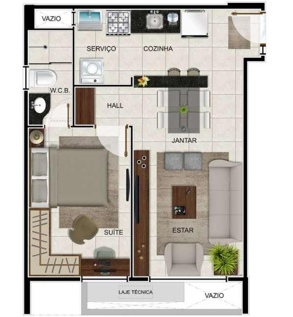 Fotos de Apartamento de 02 quartos com piscina na ponta verde - maceió 10