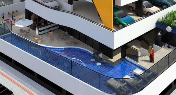 Fotos de Apartamento de 02 quartos com piscina na ponta verde - maceió 2