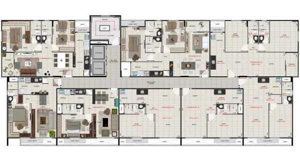 Fotos de Apartamento de 02 quartos com piscina na ponta verde - maceió 11
