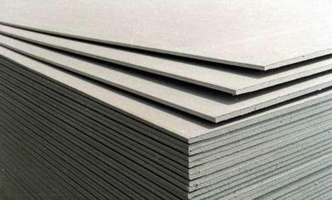 Placas cimentícias de gesso acartonado drywall gypsum