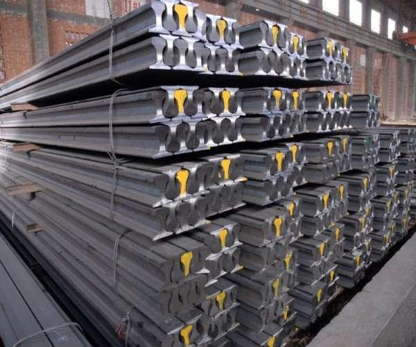 Trilhos de aço para linha férrea
