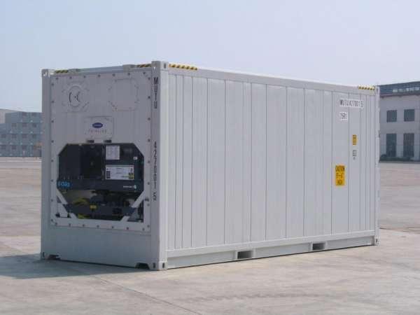 Container dry reefer climatizado