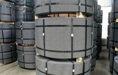 Cordoalhas e cabos de aço galvanizado