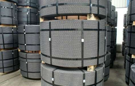 Cordoalhas e cabos em aço galvanizado
