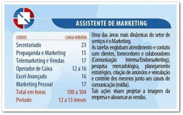 Assistente de marketing em são bernardo do campo