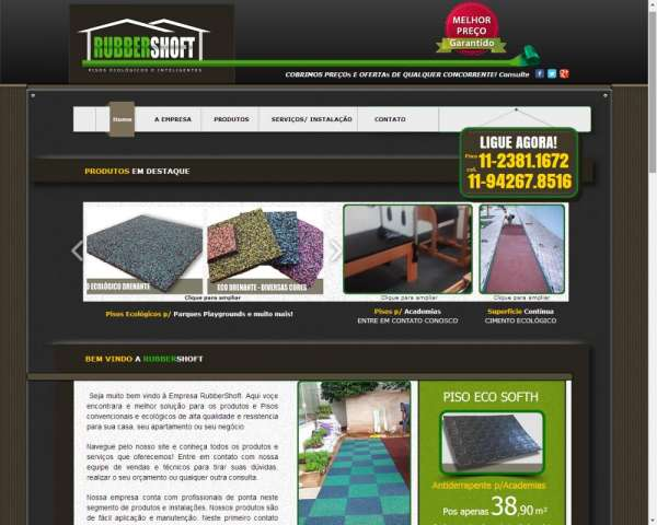 Rubbershoft.com - pisos ecológicos drenantes | piso ecologico drenante | pisos para academias | pisos para playground