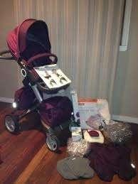 Stokke xplory v4 completo bebê carrinho de bebé