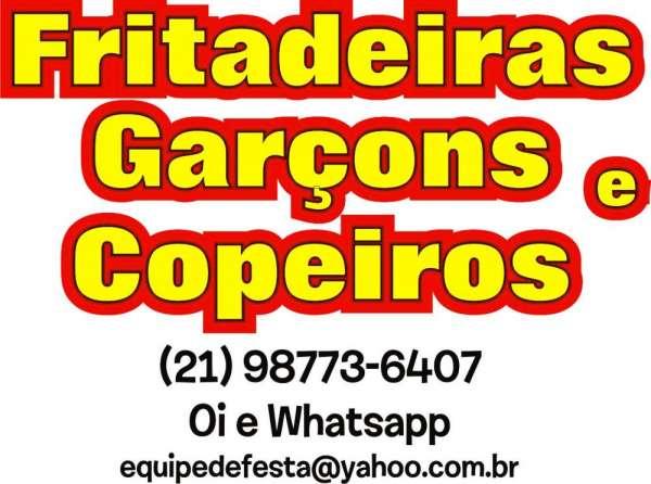 Fritadeiras para festas - catete, glória, flamengo (21) 9 8773-6407 whatsapp
