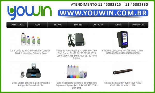Youwin - distribuidora de toners para impressão e informática