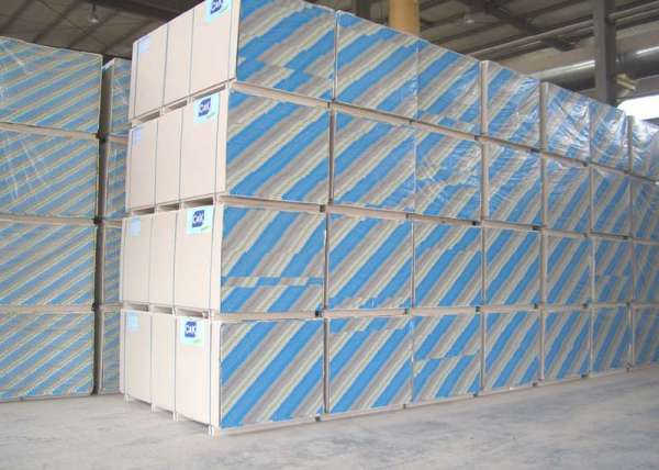 Placas cimenticias de gesso acartonado drywall gypsum